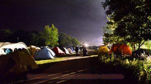 Camping / Campgrund of Wave Gotik Festival